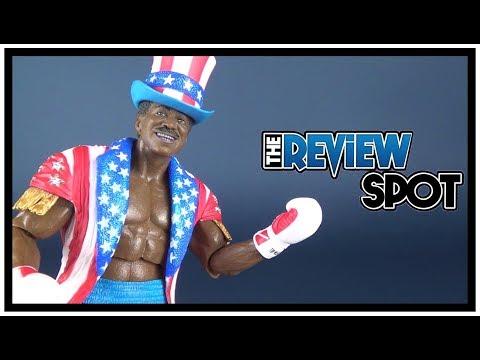 Toy Spot | NECA Rocky 40th Anniversary Rocky 4 Apollo Creed Figure