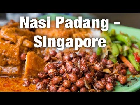 Nasi Padang in Singapore