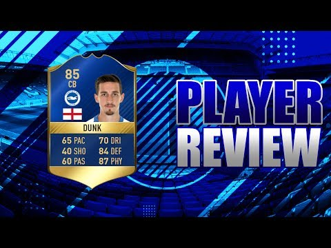 FIFA 17 - TOTS EFL 85 RATED LEWIS DUNK!!! PLAYER REVIEW!!! FIFA 17 ULTIMATE TEAM PLAYER REVIEW!!!
