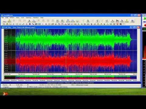 Hướng dẫn cắt và ghép nhạc bằng Goldwave