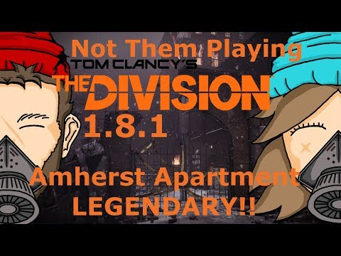 Amherst Apartment LEGENDARY!! with a HUNTER!? | The Division 1.8.1