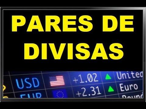 Pares de divisas forex