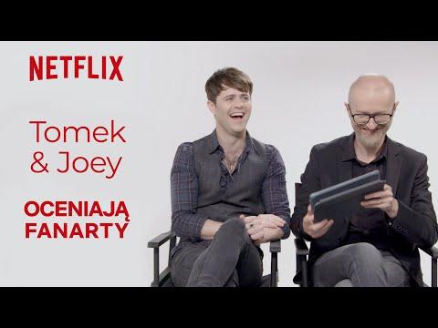 Joey Batey I Tomek Bagiński Oceniają Fanarty | Wiedźmin | Netflix