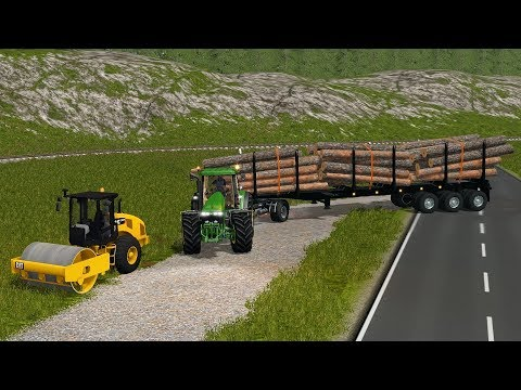 Farming Simulator 17 - Forestry and Farming on Woodshire 057 thumbnail