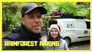 We Found An Airbnb In The Rainforest, Hiking And Boondocking Lyre River Campground, Campground Tour.