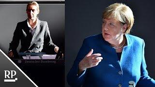Merkel vs. Weidel im Bundestag: Die Kanzlerin ärgert die AfD