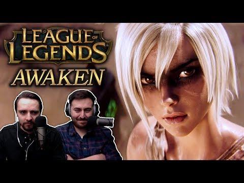 'Awaken (ft. Valerie Broussard) | League of Legends Cinematic | Season 2019' REACTION