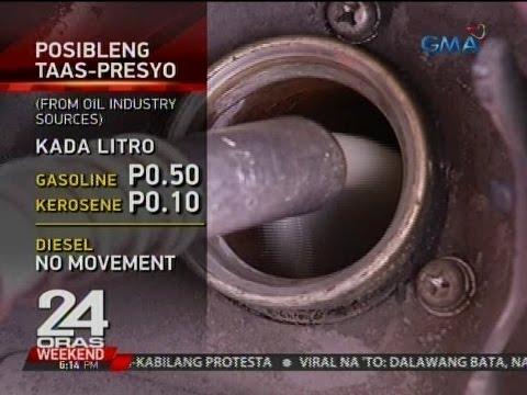 24 Oras: Posibleng taas-presyo ng petrolyo