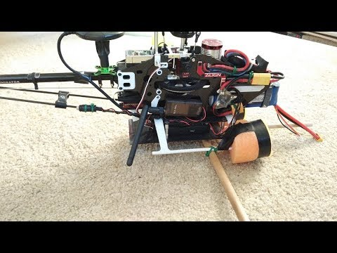 Ardupilot Traditional Helicopter - Pixhawk