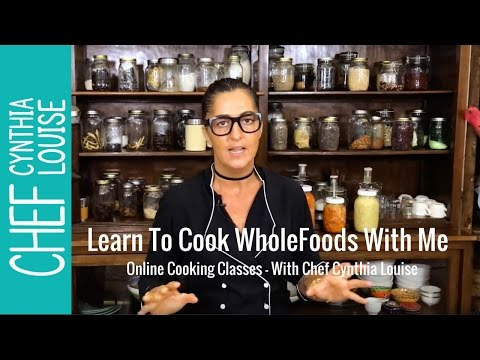 Online Cooking Classes with Chef Cynthia Louise