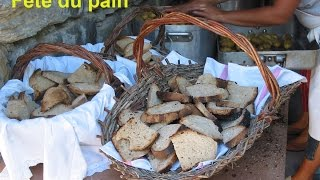 Fête du pain  à  Freissinières  / Juillet 2003