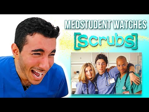 """Real Medical Student Reacts to """"SCRUBS"""" 