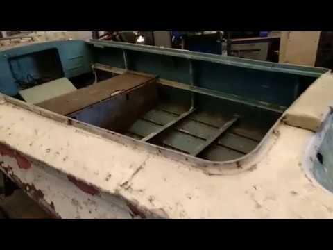 Восстановление лодки Обь-1