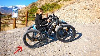 Off Road Wheelchair Test - Can it climb a mountain?