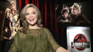 Jurassic Park Ultimate Trilogy Gift Set Exclusive: Ariana Richards Interview