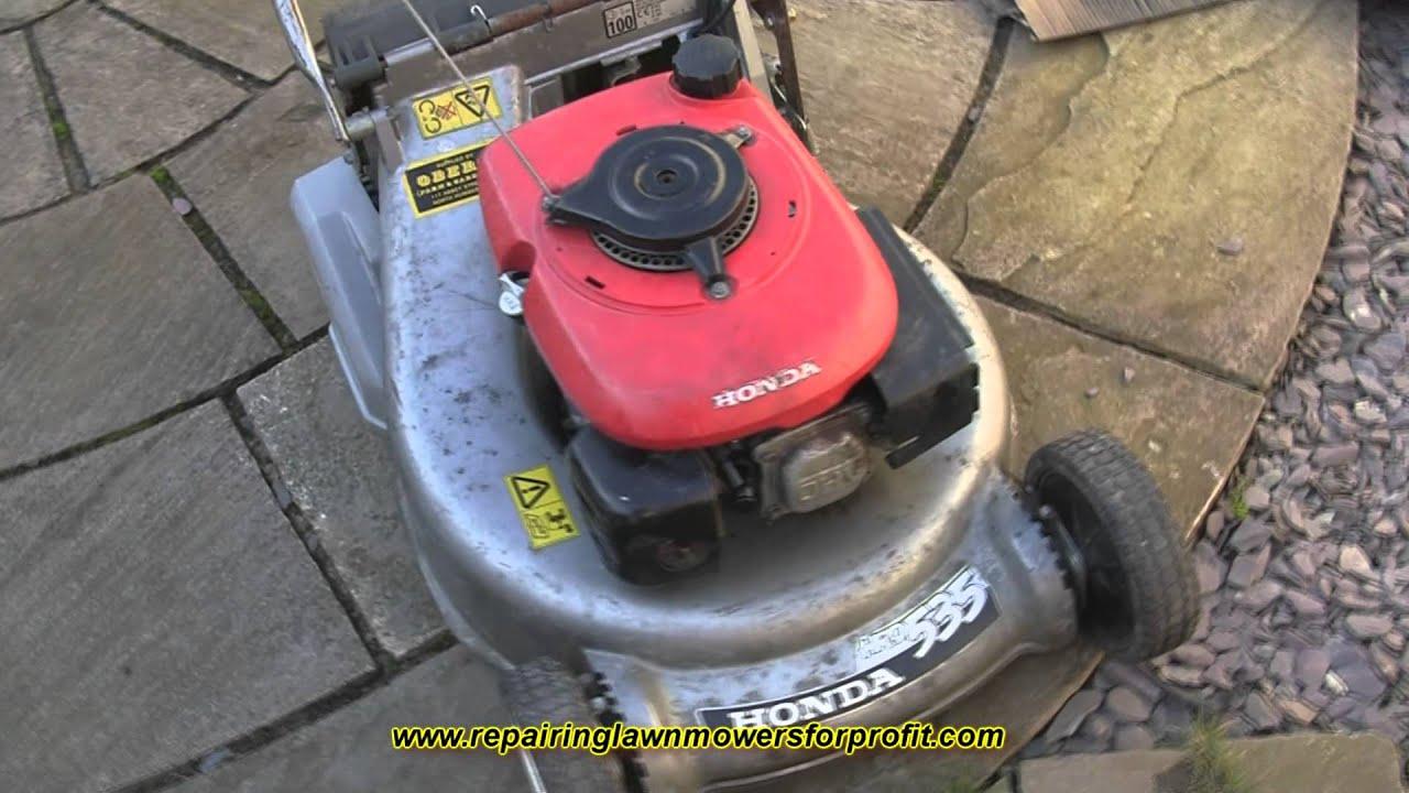 Repairing Lawn Mowers For Profit Part 29 Honda Choke Cable