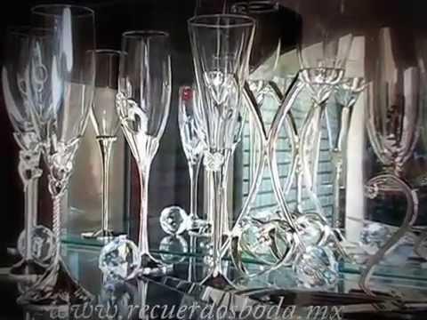 Copas de bodas youtube - Como decorar copas de cristal ...