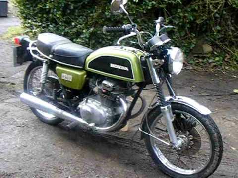 Honda Cb200 1978 Youtube