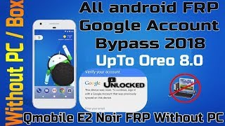How To Bypass Google Account On Android 2018 FRP Unlock Without Pc
