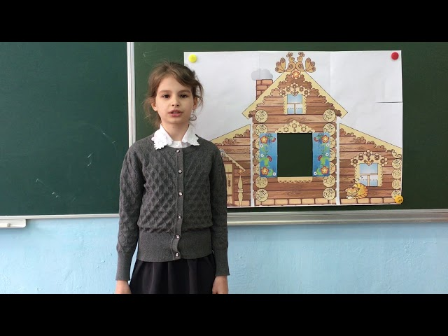 Изображение предпросмотра прочтения – ВалерияБуйко читает произведение «Заяц-хваста» (Русский фольклор )