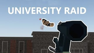 UNIVERSITY RAID|| Apocalypse Rising 2(Roblox)