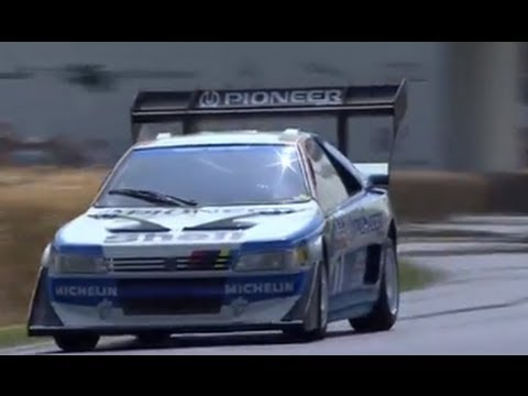 Peugeot 405 Pikes Peak - Goodwood Festival of Speed 2013