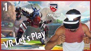 PlayStation VR   Tegen virtuele robots vechten in RIGS: Mechanized Combat League!