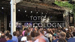 TOTO | AFRICA | Live in Cologne 2015 (Tanzbrunnen, Köln) [EXTENDED VERSION]