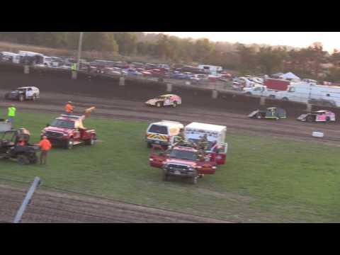 10 15 16 Modified Heat Race #3 Kokomo Speedway