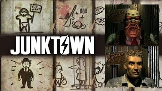 The Full Story of Junktown - Gizmo, Killian Darkwater, The Skulz - Fallout 1 Lore