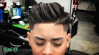 NEW Stylish Pompadour Haircut Tutorial