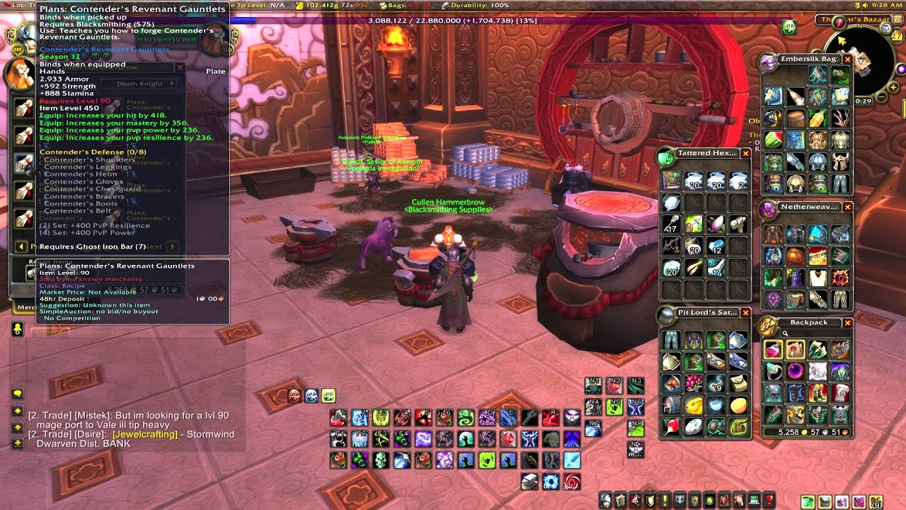 world of warcraft gold making guides mop blacksmithing gold making rh youtube com Vanilla WoW Leveling Guide WoW Alliance Leveling Guide