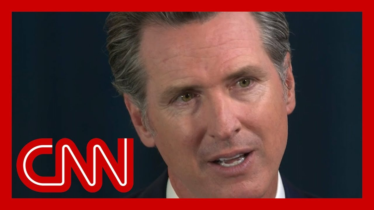 CNN:Gov. Newsom: 'We can't accept the status quo'