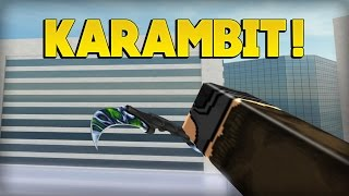 NEW KARAMBIT UNBOXED! - Counter-Blox: Roblox Offensive