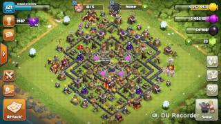 Clash of clans best th 10 looting strategy best league