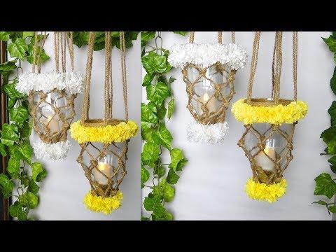 DIY Plastic Bottle Lantern   Home Decoration Ideas   Diwali And Christmas Decorations