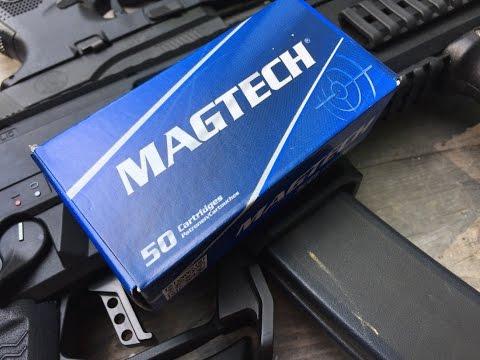 9x19mm, 115gr FMJ, Magtech Velocity Test
