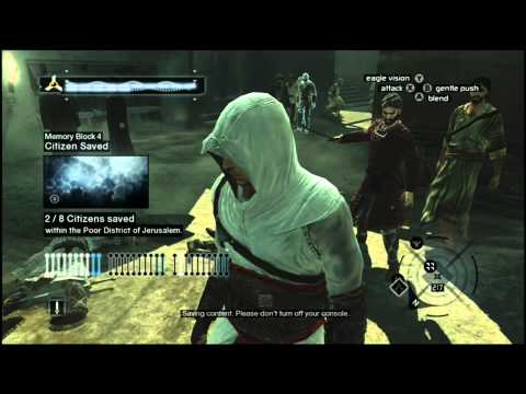 Assassin's Creed 1 - Memory Block 4 (Jerusalem) - Walkthrough Episode 19