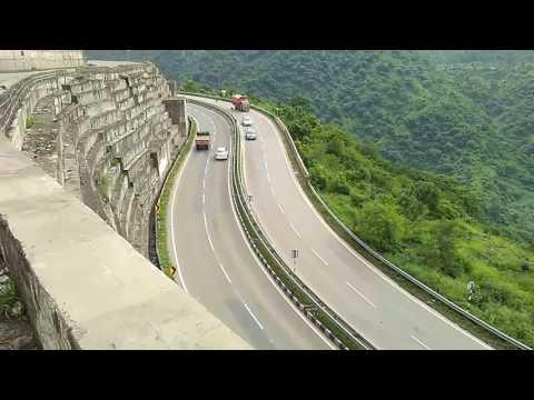 A view on way to Parwanoo, Himachal Pradesh - Chandigarh Shimla Highway