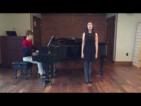 Clare Kelly audition tape for 2018 Living Music Institute