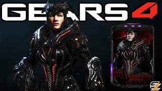 "Gears of War 4 - ""Black Steel Myrrah"" Character Multiplayer Gameplay! (Black Steel Locust Myrrah)"