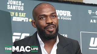 "Jon Jones on third Daniel Cormier fight: ""There's about a 90% chance it's gonna happen"""