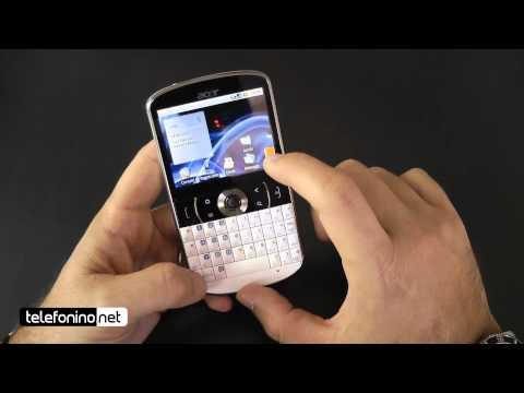 Acer E130 videoreview da Telefonino.net