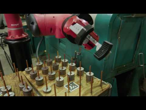 Sawyer at Work: Robot Positioning System