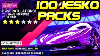 OPENING 100 KOENIGSEGG JESKO PACKS + TIPS & TRICKS for its Grand Prix event! (Asphalt 9)