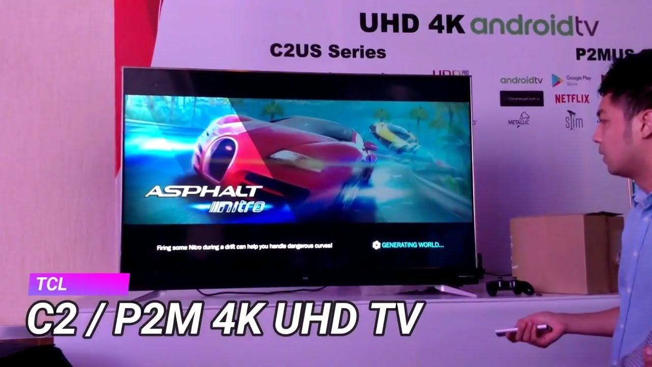 Tcl C2 And P2m 4k Uhd Android Smart Tv Launched In India Price