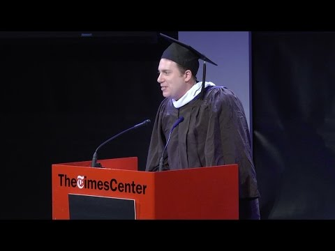 BuzzFeed's Ben Smith at CUNY Graduate School of Journalism Fall Commencement