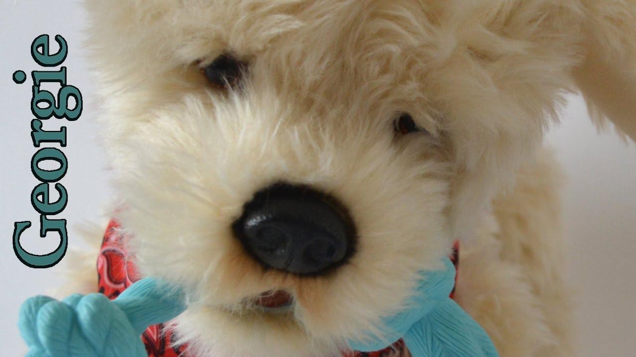 lifelike dog toy