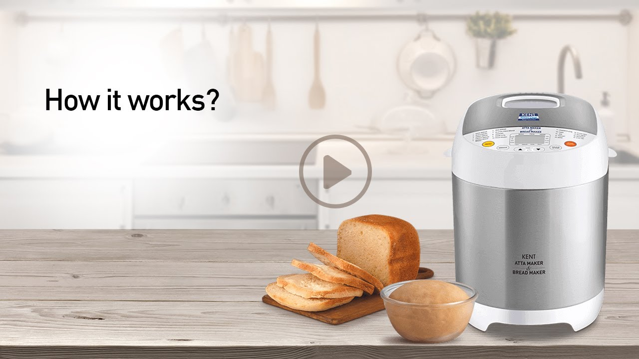 How To Use Kent Atta Bread Maker Machine For Home Demo Video