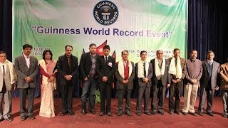 NEPAL'S FIRST-GUINNESS WORLD RECORD EVENT FOR THE FIRST TIME IN NEPALI HISTORY